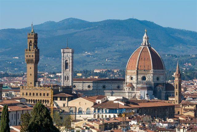 Italia Florencia Giardino Bardini Vista Panoramica