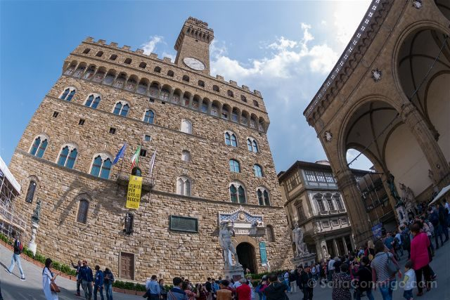 Italia Florencia Palazzo Vecchio Ojo Pez