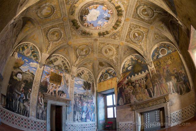 Italia Mantua Camera Sposi Castillo San Giorgio