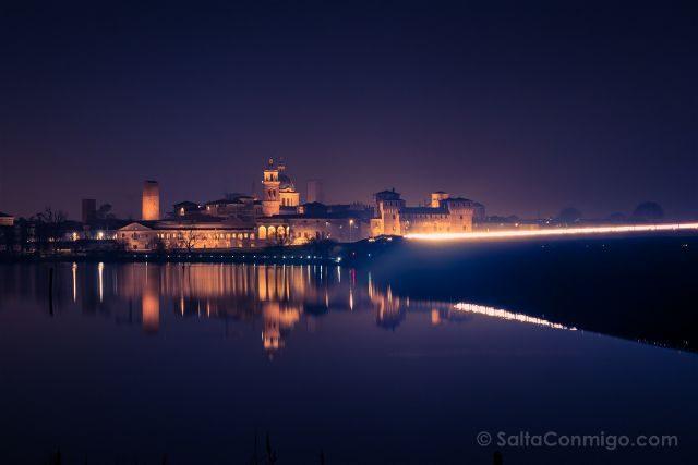 Italia Mantua Castello San Giorgo Hora Azul