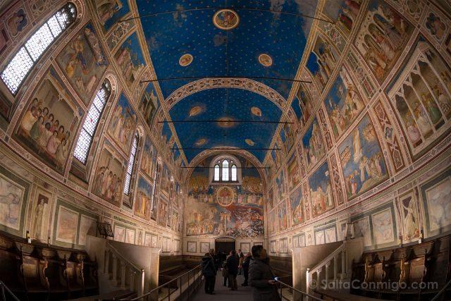 Italia Padua Cappella degli Scrovegni Giotto