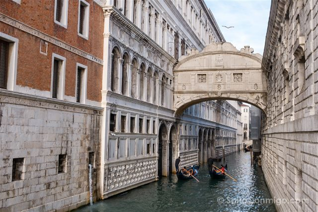 Italia Venecia Puente Suspiros