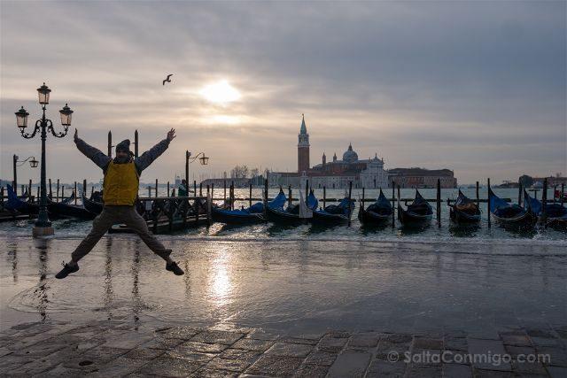 Italia Venecia Salto Gran Canal