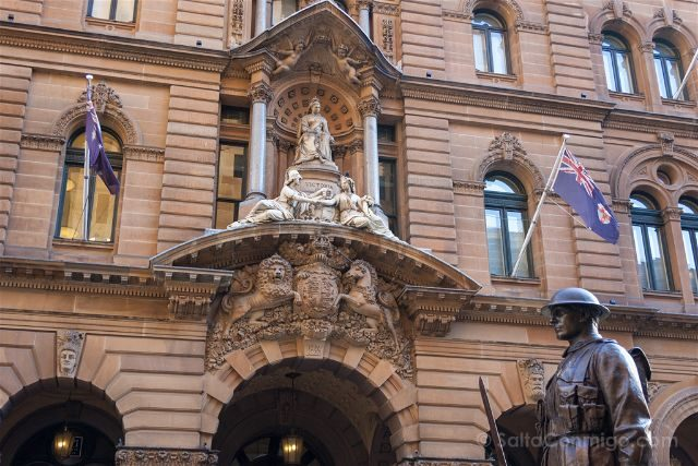 Australia Sydney General Post Office Cenotafio I Guerra Mundial
