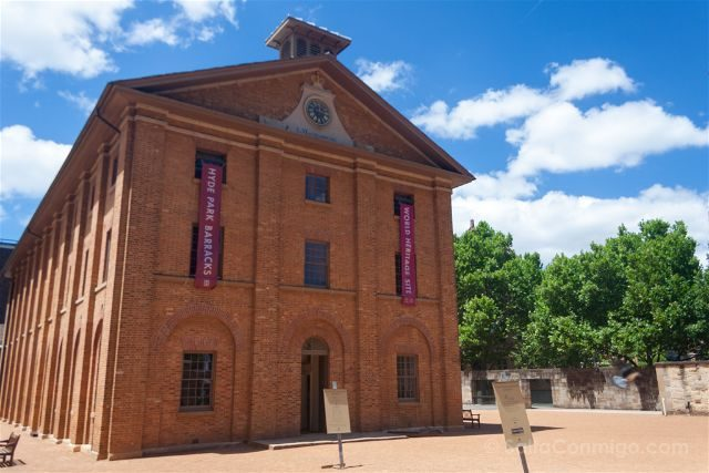 Australia Sydney Hyde Park Barracks Museum Edificio