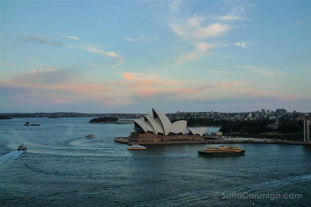 Australia Sydney Opera House Desde Puente