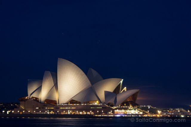 Australia Sydney Opera House Hora Azul