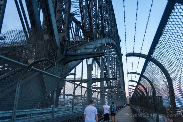 Australia Sydney Puente Bahia Cruzando