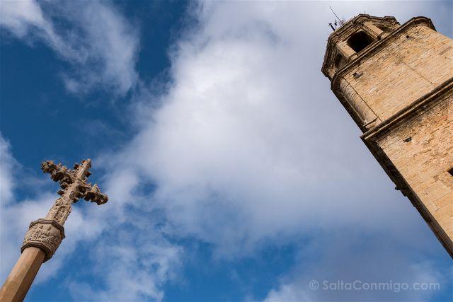 Castellon Els Ports Cinctorres Sant Pere Apostol Cruceiro