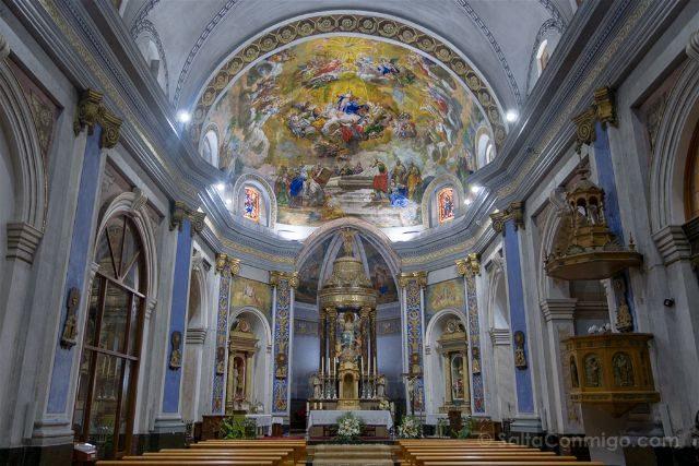Castellon Els Ports Forcall Iglesia Asuncion