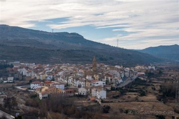 Castellon Els Ports Forcall Mirador Mare de Deu
