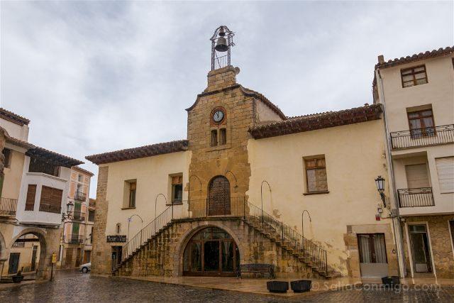 Castellon Els Ports Forcall Palacio de les Escaletes