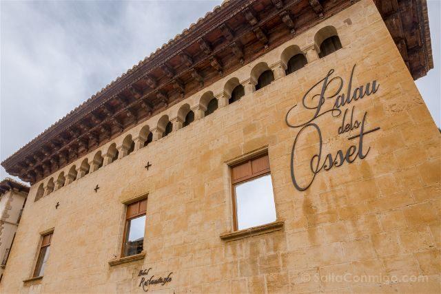 Castellon Els Ports Forcall Palau dels Osset Fachada