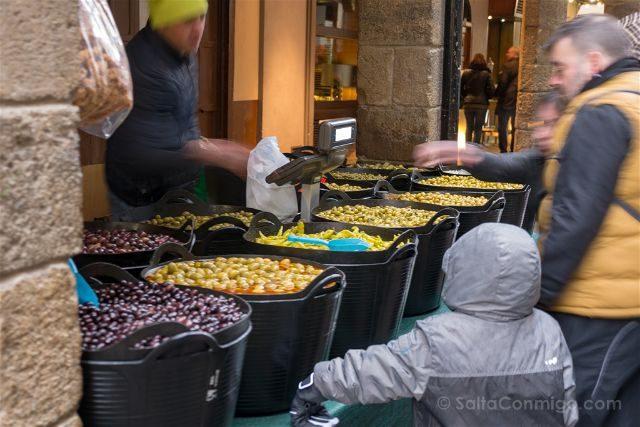 Castellon Els Ports Morella Carrer d'En Blasco d'Alagó Mercado