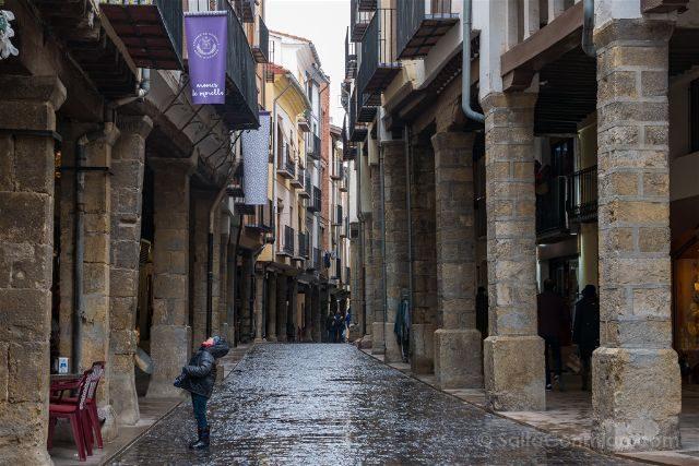Castellon Els Ports Morella Carrer d'En Blasco d'Alagó Nino