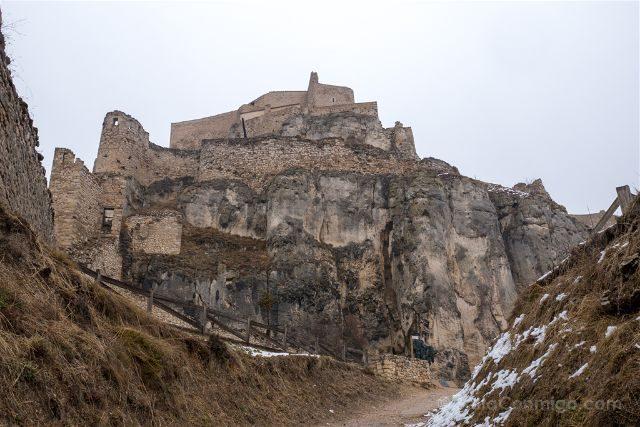 Castellon Els Ports Morella Castillo Acceso