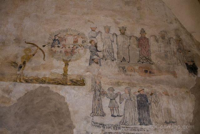 Castellon Els Ports Morella Convento San Francisco Danza Muerte Arbol Vida