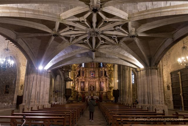 Castellon Els Ports Morella Santa Maria Mayor Coro