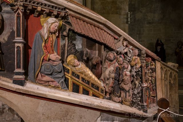 Castellon Els Ports Morella Santa Maria Mayor Detalle Escalera Coro