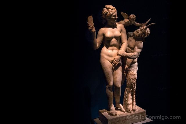 Grecia Atenas Museo Arqueologico Nacional Afrodita Eros Pan