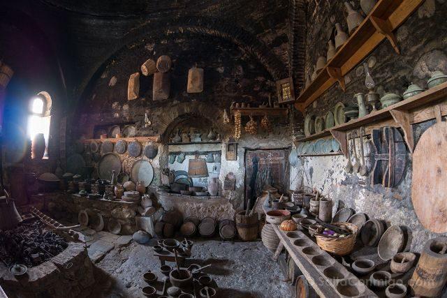 Grecia Meteora Gran Meteoro Cocina