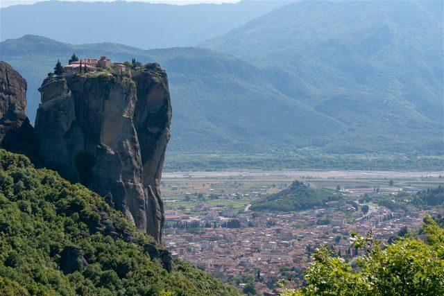 Grecia Meteora San Esteban Vista Santisima Trinidad