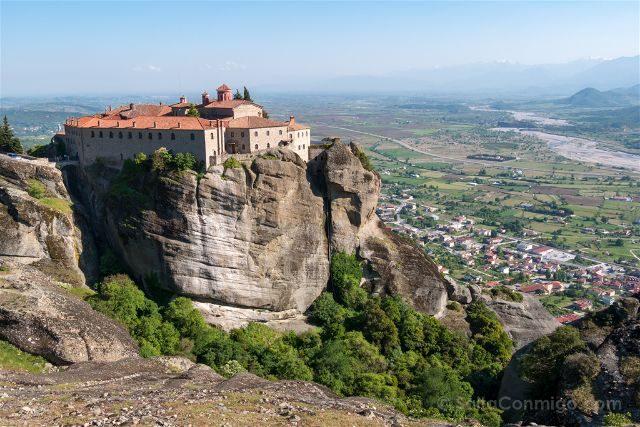 Grecia Meteora San Esteban Vista