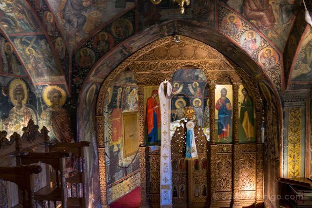 Grecia Meteora San Nicolas Frescos