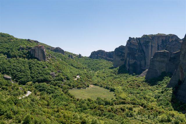 Grecia Meteora San Nicolas Vistas