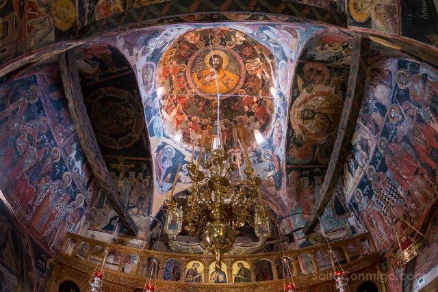 Grecia Meteora Santisima Trinidad Frescos