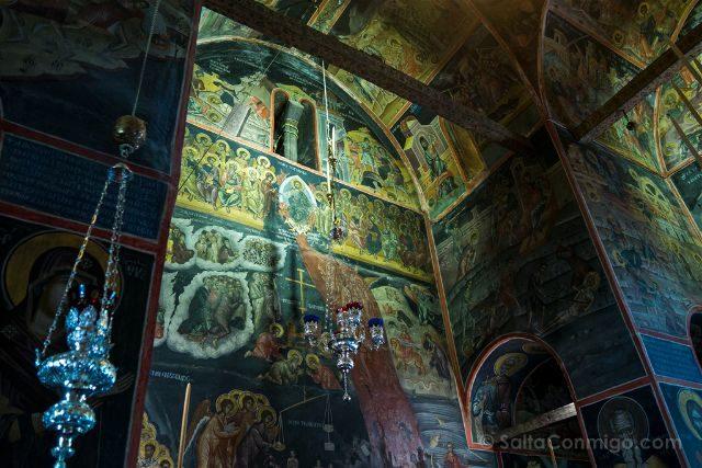Grecia Meteora Varlaam Frescos