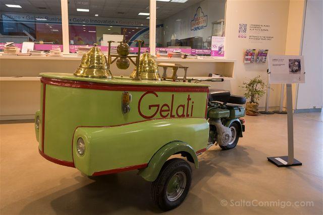 Italia Carpigiani Gelato Museum Moto