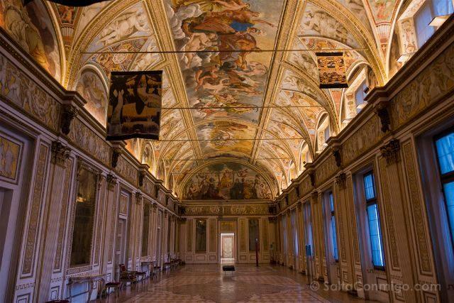 Italia Lombardia Mantua Palazzo Ducale Sala