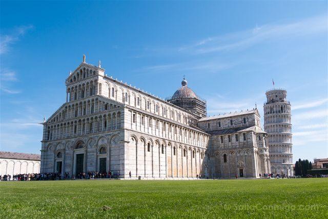 Italia Toscana Pisa Catedral Torre