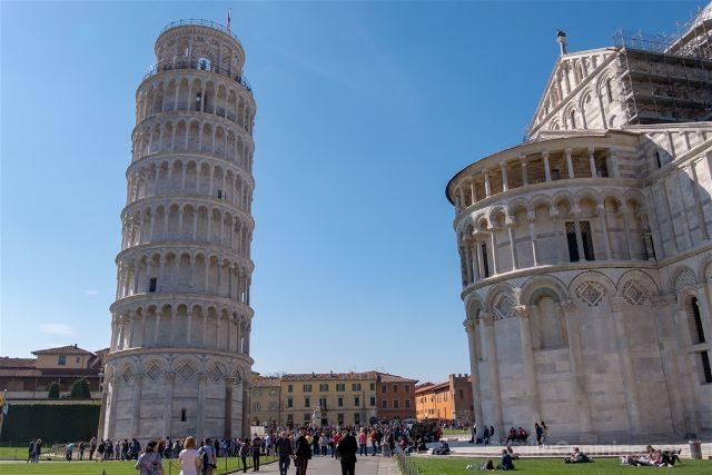 Italia Toscana Pisa Torre Exterior