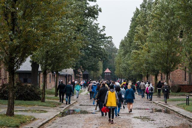 Polonia Cracovia Auschwitz Gente