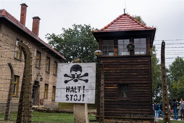 Polonia Cracovia Auschwitz Torre Vigilancia