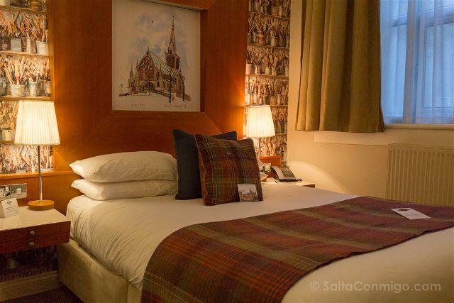 Reino Unido Escocia Glasgow Abode Hotel Habitacion