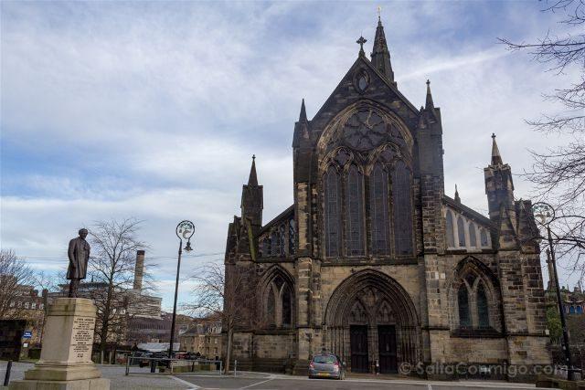 Reino Unido Escocia Glasgow Catedral Fachada