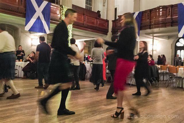 Reino Unido Escocia Glasgow Ceilidh