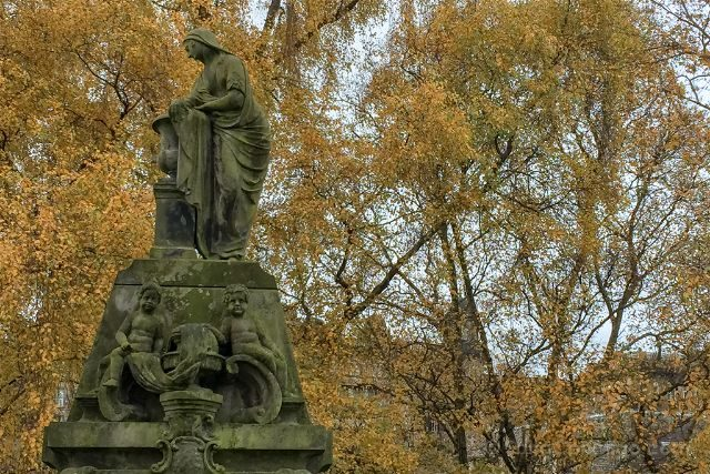 Reino Unido Escocia Glasgow Necropolis