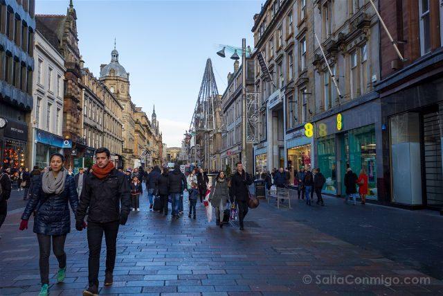 Reino Unido Escocia Glasgow Paseando