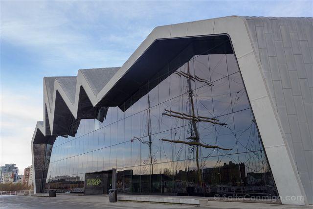 Reino Unido Escocia Glasgow Riverside Museum