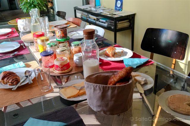 Belgica Bruselas BB DRUUM Desayuno