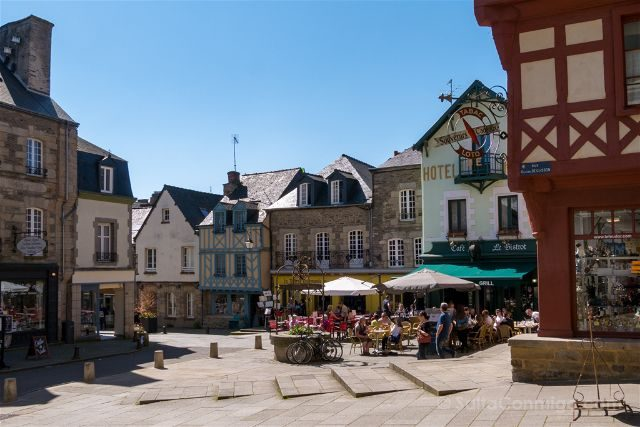 Francia Bretagne Josselin Pueblo
