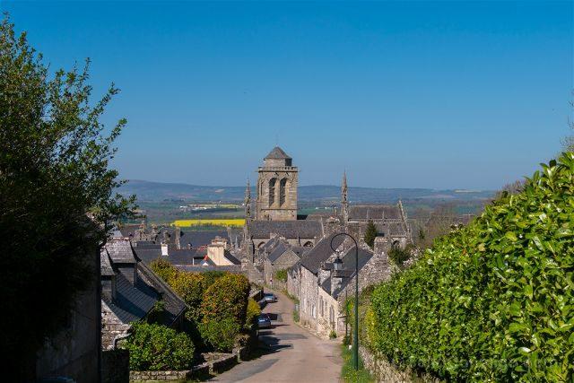 Francia Bretagne Locronan Vista