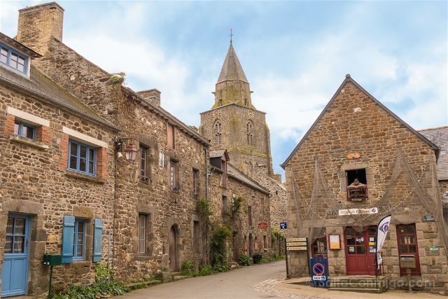 Francia Bretagne Saint-Suliac Casas