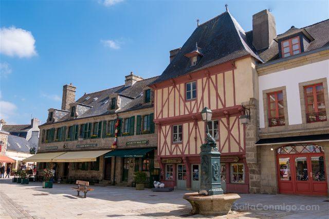 Francia Bretagne Ville-Close Concarneau Interior