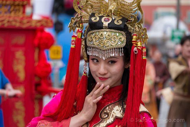 Francia Niza Carnaval Batalla Flores China