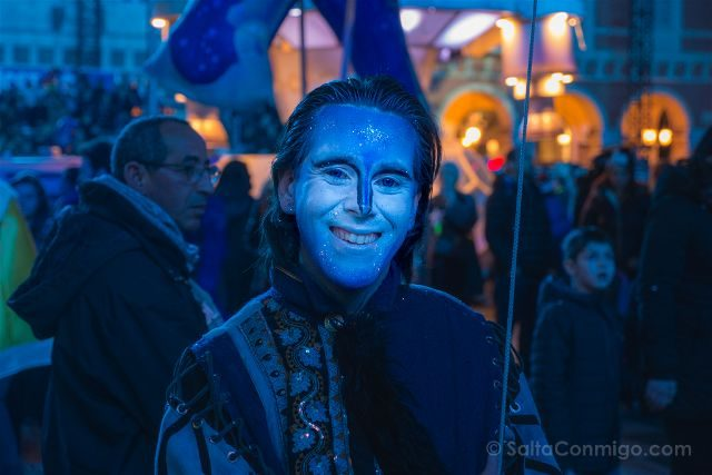 Francia Niza Carnaval Festival Luces Animacion